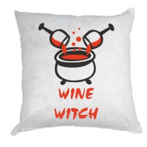 Pillow Wine witch - PrintSalon