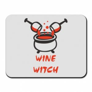 Mouse pad Wine witch - PrintSalon