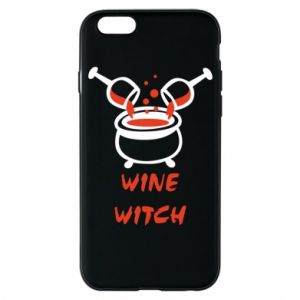 Phone case for iPhone 6/6S Wine witch - PrintSalon