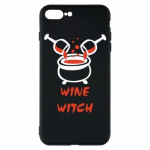 Phone case for iPhone 7 Plus Wine witch - PrintSalon