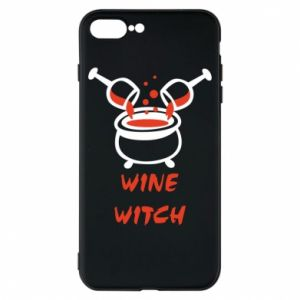 Phone case for iPhone 8 Plus Wine witch - PrintSalon