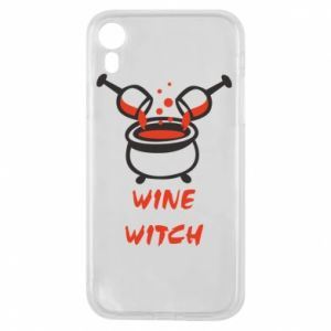 Phone case for iPhone XR Wine witch - PrintSalon
