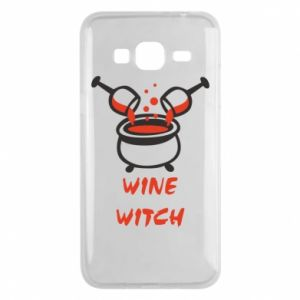 Phone case for Samsung J3 2016 Wine witch - PrintSalon