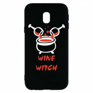 Phone case for Samsung J3 2017 Wine witch - PrintSalon