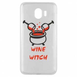 Phone case for Samsung J4 Wine witch - PrintSalon