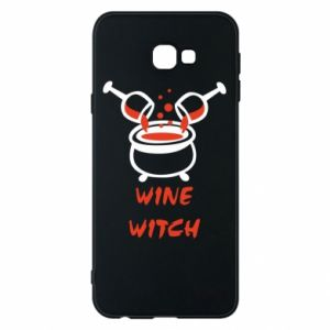 Phone case for Samsung J4 Plus 2018 Wine witch - PrintSalon