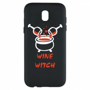 Phone case for Samsung J5 2017 Wine witch - PrintSalon