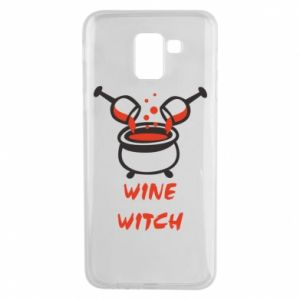 Phone case for Samsung J6 Wine witch - PrintSalon
