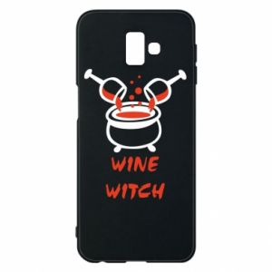 Phone case for Samsung J6 Plus 2018 Wine witch - PrintSalon