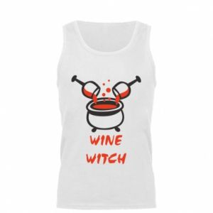 Men's t-shirt Wine witch - PrintSalon