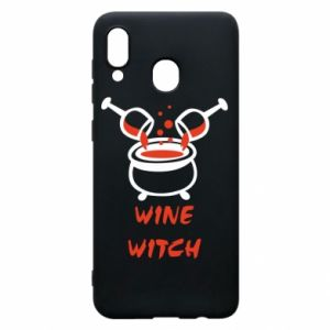 Phone case for Samsung A30 Wine witch - PrintSalon