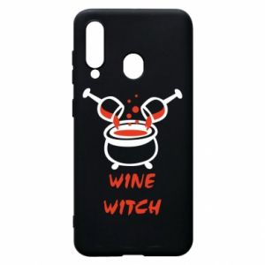 Phone case for Samsung A60 Wine witch - PrintSalon
