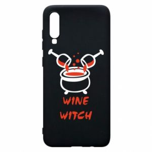 Phone case for Samsung A70 Wine witch - PrintSalon