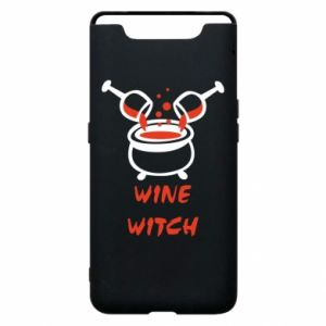 Phone case for Samsung A80 Wine witch - PrintSalon