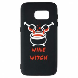Phone case for Samsung S7 Wine witch - PrintSalon