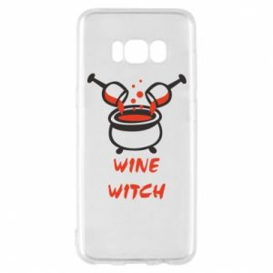 Phone case for Samsung S8 Wine witch - PrintSalon