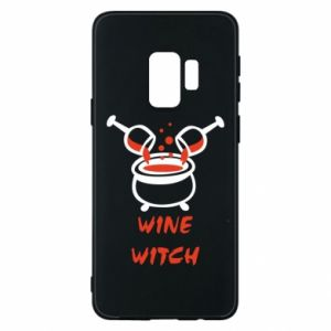 Phone case for Samsung S9 Wine witch - PrintSalon