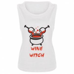 Women's t-shirt Wine witch - PrintSalon