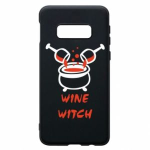 Phone case for Samsung S10e Wine witch - PrintSalon