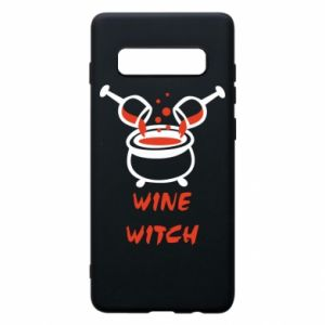 Phone case for Samsung S10+ Wine witch - PrintSalon