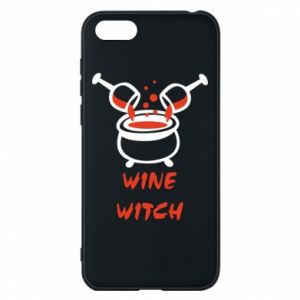 Phone case for Huawei Y5 2018 Wine witch - PrintSalon