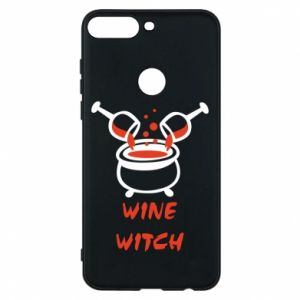 Phone case for Huawei Y7 Prime 2018 Wine witch - PrintSalon