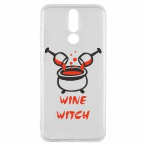 Phone case for Huawei Mate 10 Lite Wine witch - PrintSalon