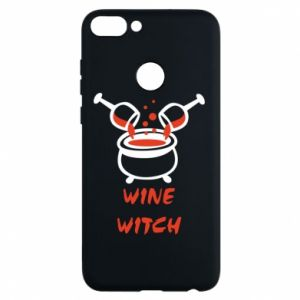 Phone case for Huawei P Smart Wine witch - PrintSalon