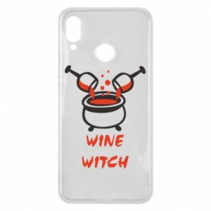 Phone case for Huawei P Smart Plus Wine witch - PrintSalon
