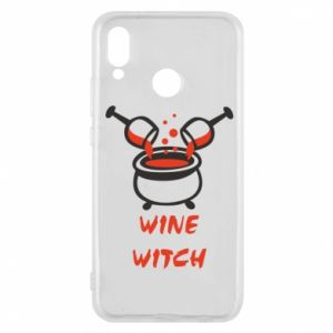Phone case for Huawei P20 Lite Wine witch - PrintSalon