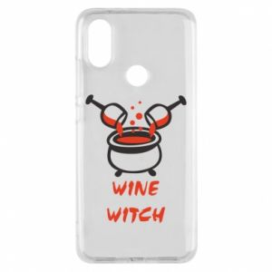 Phone case for Xiaomi Mi A2 Wine witch - PrintSalon