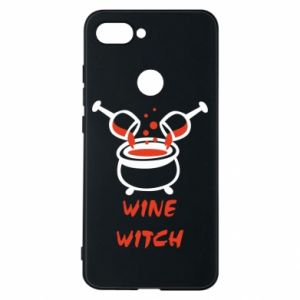 Phone case for Xiaomi Mi8 Lite Wine witch - PrintSalon