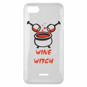 Phone case for Xiaomi Redmi 6A Wine witch - PrintSalon