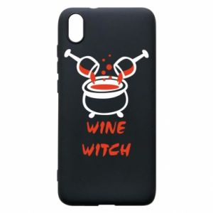 Phone case for Xiaomi Redmi 7A Wine witch - PrintSalon