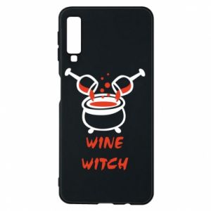 Phone case for Samsung A7 2018 Wine witch - PrintSalon