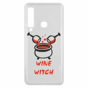 Phone case for Samsung A9 2018 Wine witch - PrintSalon