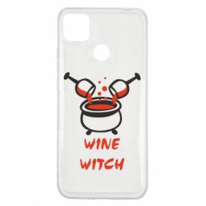 Etui na Xiaomi Redmi 9c Wine witch
