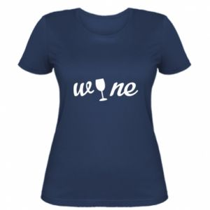 Women's t-shirt Wine
