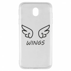 Etui na Samsung J7 2017 Wings
