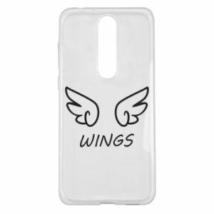 Etui na Nokia 5.1 Plus Wings