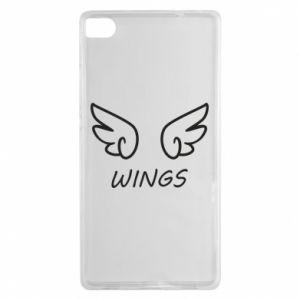Etui na Huawei P8 Wings