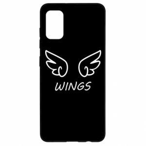 Etui na Samsung A41 Wings