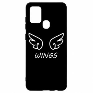 Etui na Samsung A21s Wings