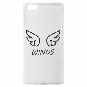 Etui na Huawei P 8 Lite Wings