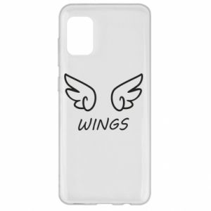 Etui na Samsung A31 Wings