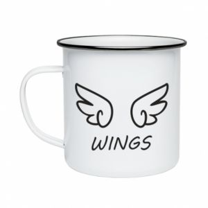Enameled mug Wings