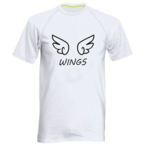 Men's sports t-shirt Wings