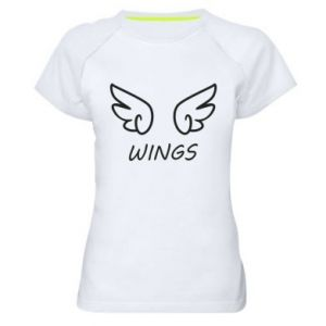 Women's sports t-shirt Wings