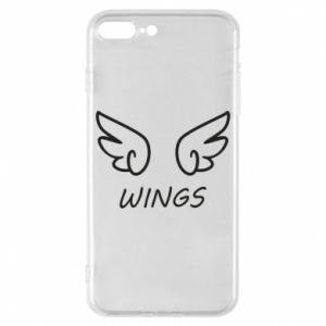 Phone case for iPhone 8 Plus Wings