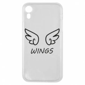 Phone case for iPhone XR Wings